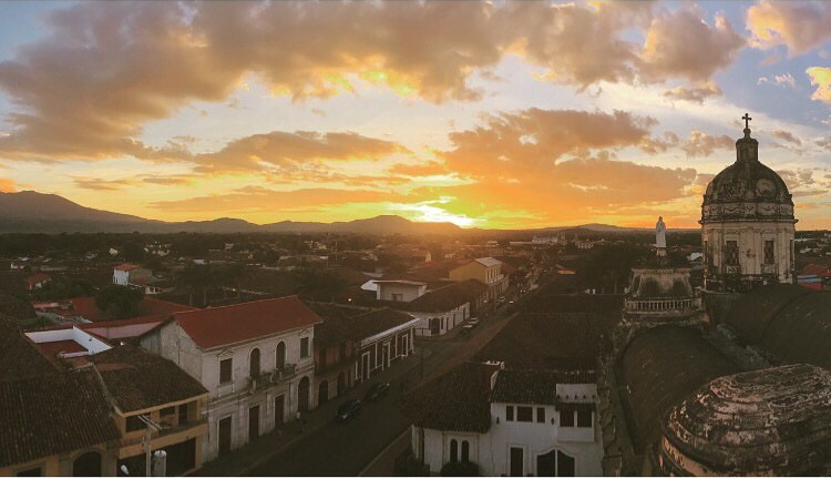 Sunset at Iglesia La Merced