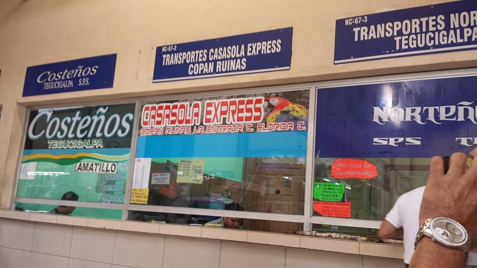 Casasola Express window